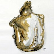 Think Going Cry Rob MacGillivray nude drawing